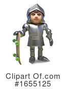 Knight Clipart #1655125 by Steve Young