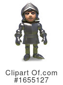 Knight Clipart #1655127 by Steve Young