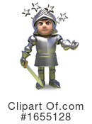Knight Clipart #1655128 by Steve Young