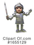 Knight Clipart #1655129 by Steve Young