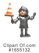 Knight Clipart #1655132 by Steve Young