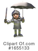 Knight Clipart #1655133 by Steve Young
