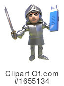 Knight Clipart #1655134 by Steve Young