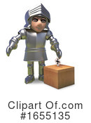 Knight Clipart #1655135 by Steve Young