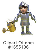 Knight Clipart #1655136 by Steve Young