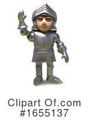 Knight Clipart #1655137 by Steve Young