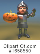 Knight Clipart #1658550 by Steve Young