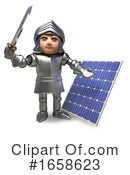 Knight Clipart #1658623 by Steve Young