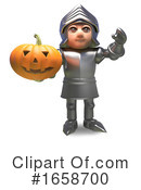 Knight Clipart #1658700 by Steve Young