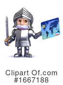 Knight Clipart #1667188 by Steve Young