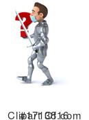 Knight Clipart #1713816 by Julos