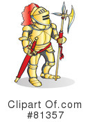 Royalty-Free (RF) Knight Clipart Illustration #81357