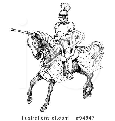 Jousting Clipart #94847 by C Charley-Franzwa