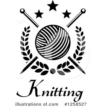 Knitting Clipart #1258527 by Vector Tradition SM