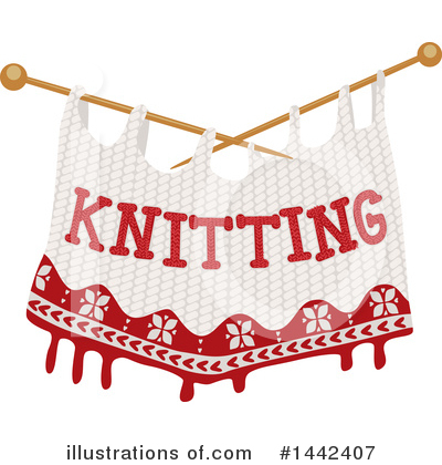 Knitting Clipart #1442407 by BNP Design Studio