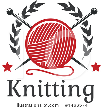 Knitting Clipart #1466574 by Vector Tradition SM