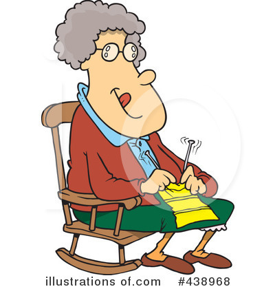 Granny Clipart #438968 by toonaday