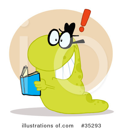 Reading Clipart #35293 by Hit Toon