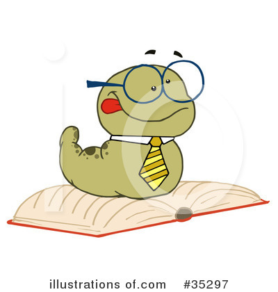 Worm Clipart #35297 by Hit Toon