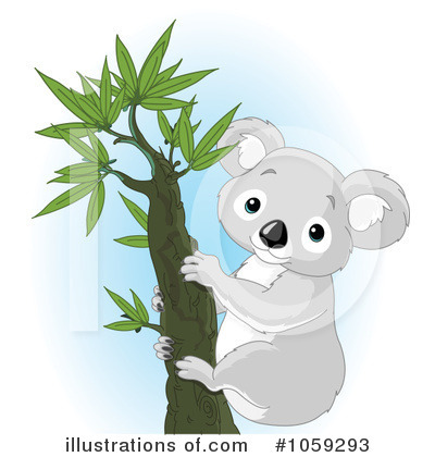Koala Clipart #1059293 by Pushkin