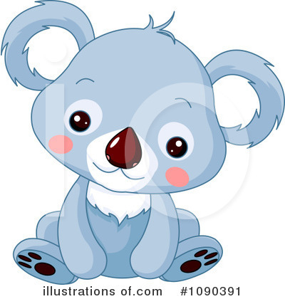Koala Clipart #1090391 by Pushkin