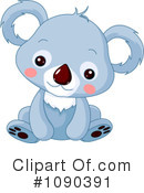 Royalty-Free (RF) koala Clipart Illustration #1090391