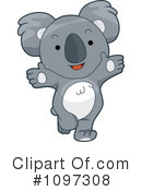 Royalty-Free (RF) koala Clipart Illustration #1097308