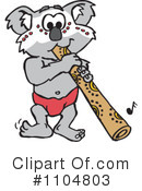 Royalty-Free (RF) Koala Clipart Illustration #1104803