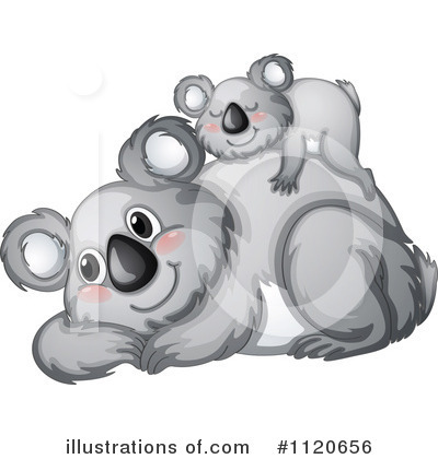 Koala Clipart #1120656 by Graphics RF