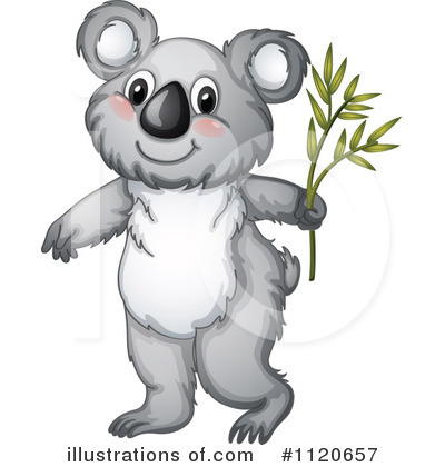 Koala Clipart #1120657 by Graphics RF