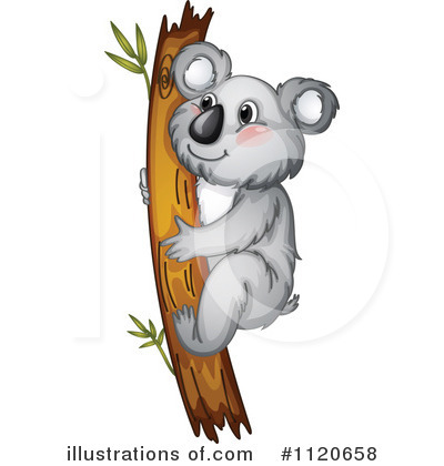Koala Clipart #1120658 by Graphics RF