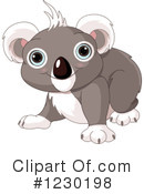 Koala Clipart #1230198 by Pushkin