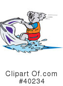 Royalty-Free (RF) koala Clipart Illustration #40234