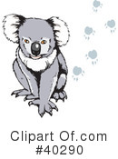 Royalty-Free (RF) Koala Clipart Illustration #40290