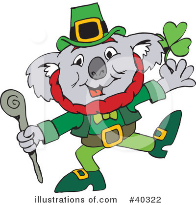 Leprechaun Clipart #40322 by Dennis Holmes Designs