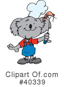 Royalty-Free (RF) Koala Clipart Illustration #40339