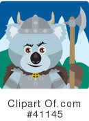 Royalty-Free (RF) koala Clipart Illustration #41145