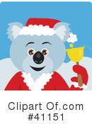 Royalty-Free (RF) koala Clipart Illustration #41151