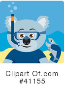Royalty-Free (RF) koala Clipart Illustration #41155
