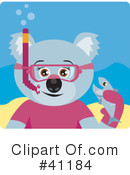 Royalty-Free (RF) koala Clipart Illustration #41184