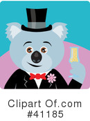Royalty-Free (RF) koala Clipart Illustration #41185