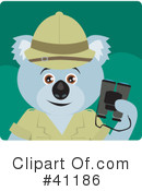 Royalty-Free (RF) Koala Clipart Illustration #41186