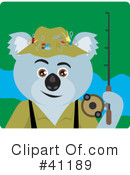 Royalty-Free (RF) Koala Clipart Illustration #41189