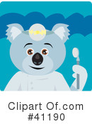 Royalty-Free (RF) Koala Clipart Illustration #41190