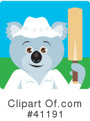 Royalty-Free (RF) Koala Clipart Illustration #41191