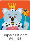 Royalty-Free (RF) Koala Clipart Illustration #41193