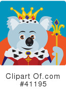 Royalty-Free (RF) Koala Clipart Illustration #41195