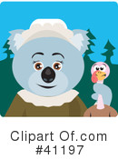 Royalty-Free (RF) Koala Clipart Illustration #41197