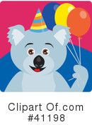 Royalty-Free (RF) Koala Clipart Illustration #41198