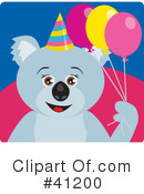 Royalty-Free (RF) Koala Clipart Illustration #41200